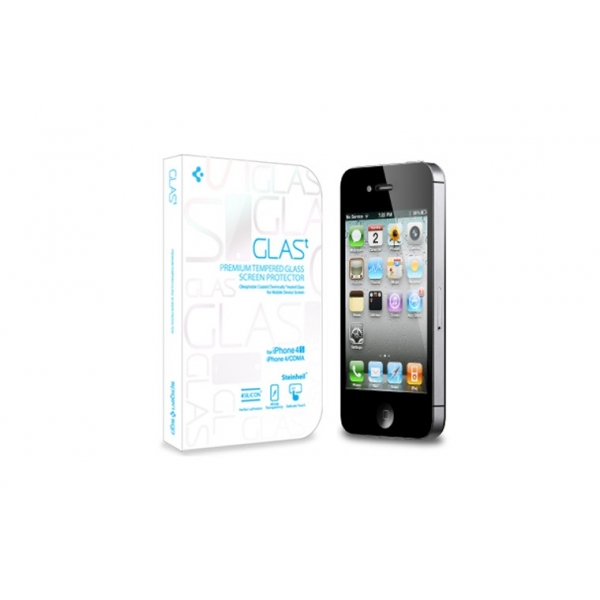 SGP iScreen Protector GLAS.t Premium Tempered Glass Series для Apple iPhone 4/4S