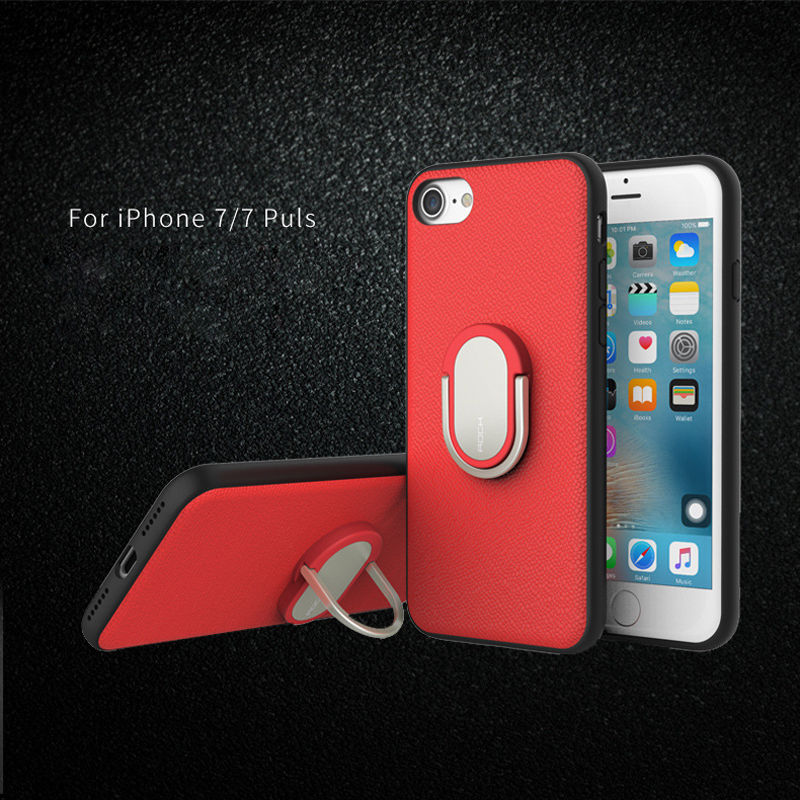 "TPU+PC чехол Rock Ring Holder Case M1 Series для Apple iPhone 7 / 8 (4.7"")"