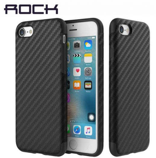 "TPU чехол Rock Origin Series (Textured) для Apple iPhone 7 / 8 (4.7"")"