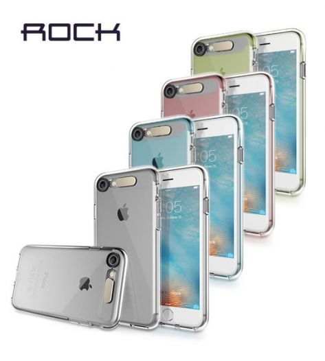 "Светящийся TPU чехол ROCK Tube Series для Apple iPhone 7 / 8 (4.7"")"