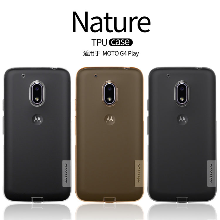 TPU чехол Nillkin Nature Series для Motorola Moto G4 Play