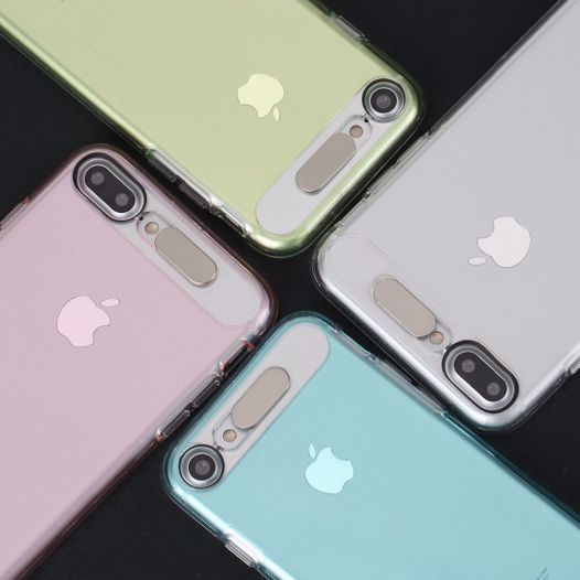 "Светящийся TPU чехол ROCK Tube Series для Apple iPhone 7 plus / 8 plus (5.5"")"