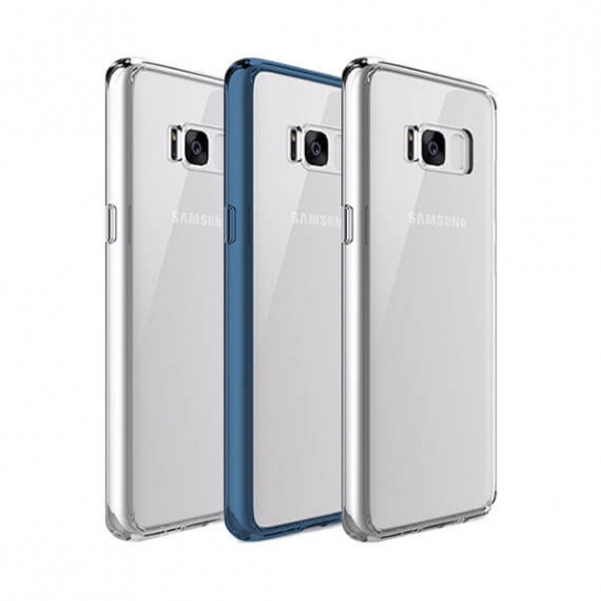 TPU+PC чехол Rock Pure Series для Samsung G955 Galaxy S8 Plus