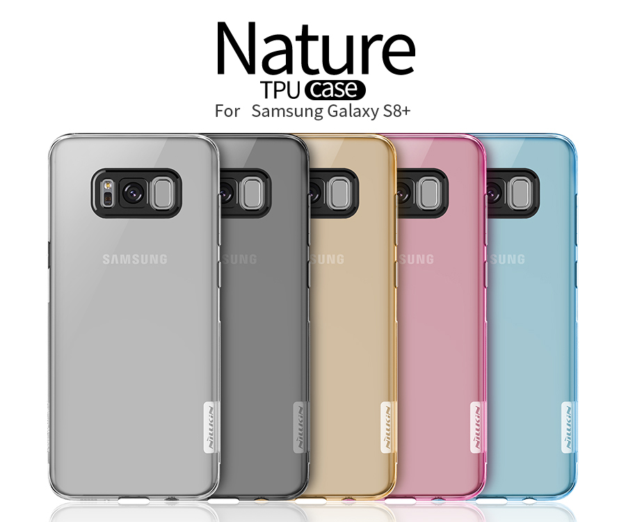 TPU чехол Nillkin Nature Series для Samsung G955 Galaxy S8 Plus