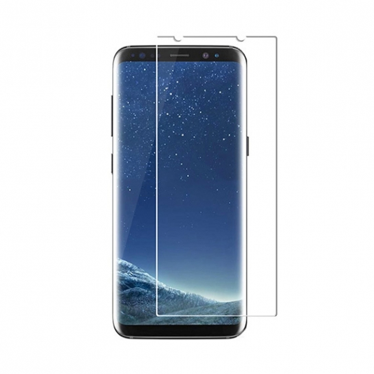 Защитное стекло Ultra Tempered Glass 0.33mm (H+) для Samsung G955 Galaxy S8 Plus (карт. уп-вка)