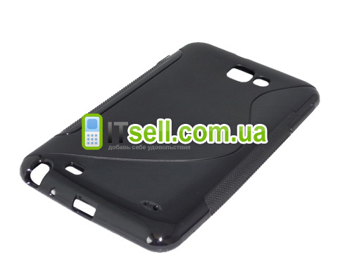 TPU Duotone для Samsung N7000 Galaxy Note<br>Черный